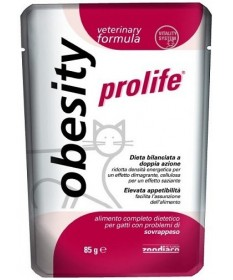 Prolife Obesity per gatto busta da 85 gr