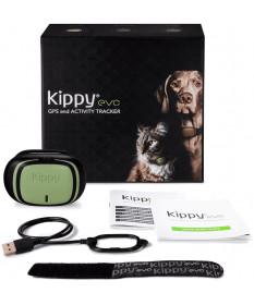 Kippy Evo Collare GPS e Activity Tracker per Cani e Gatti Green Forest
