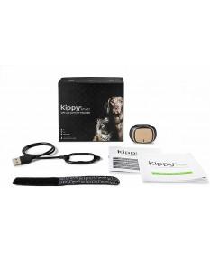 Kippy Evo Collare GPS e Activity Tracker per Cani e Gatti Brown Wood