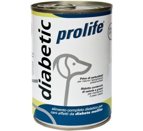 Prolife Diabetic cane umido da 400gr