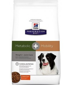 Hill's Prescription Diet Metabolic + Mobility per cane da 4 kg