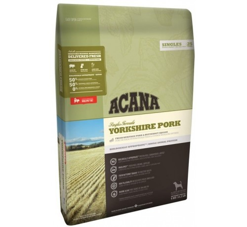 Acana Yorkshire Cane All Breeds Pork confezione da 2 kg
