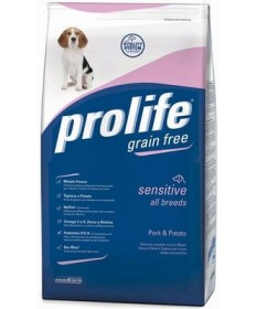 Prolife Sensitive Cane All Breeds con Maiale e Patate da 2 Kg