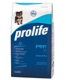 Prolife Puppy secco Cane Mini con Pollo e Riso da 3kg