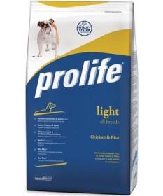 Prolife Light All Breeds Cane con Pollo e Riso da 3kg