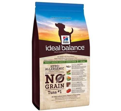 Hill's Ideal Balance cane Adulto 1-6 anni No Grain con Pollo e Patate