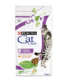 Purina Cat Chow Hairball Control con Pollo da 1,5kg