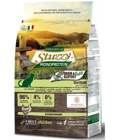 Stuzzy Gatto Monoprotein Grain e Gluten Free Sterilized con Pollo da 400gr