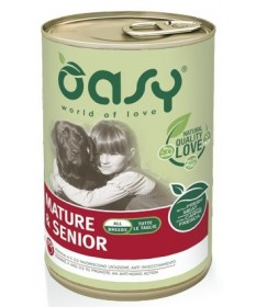 Oasy cane umido Mature e Senior All Breeds con Carne Fresca 400g