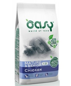 Oasy per Gatto Mature & Senior +7 con Pollo