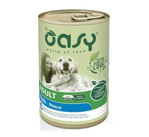 Oasy Monoproteico cane umido Adult All Breeds da 400g