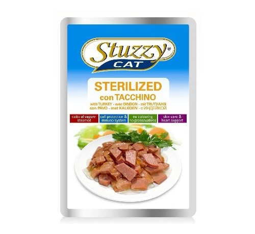 Stuzzy Gatto Sterilized da 100g