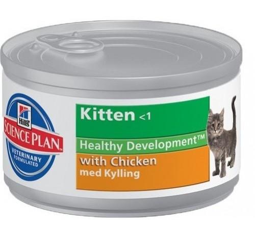 Science Plan Kitten con Pollo da 85g