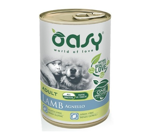 Oasy Cane Umido Monoproteico Adult 400 gr