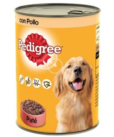 Pedigree Patè Cane Umido Pollo in Lattina da 1,23 Kg