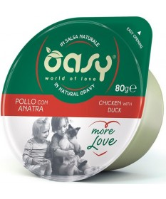 Oasy More Love Gatto da 80 gr