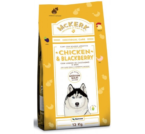 McKerk Medium Maxi con Pollo e More da 12kg