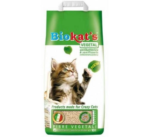 Lettiera Biokat's in Fibre Vegetali da 10 Lt