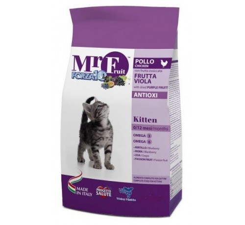 Forza10 Mr. Fruit Kitten Gatto Secco