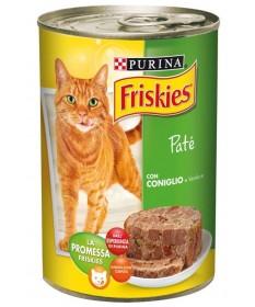 Friskies Vitality per Gatto con Coniglio e Verdure in Patè da 400gr