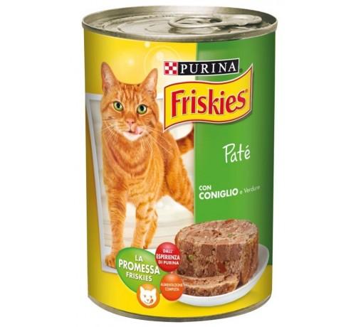 Friskies Vitality - Patè con Coniglio e Verdure 400gr