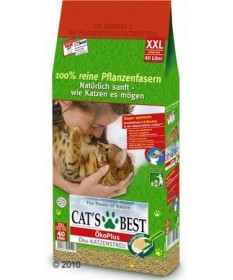 Lettiera Cat's Best Oco Llus Ecologica da 40 Lt