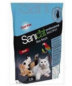 Lettiera Sanicat Professional Multipet Fine Fresh da 3,8 Lt