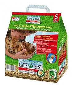 Lettiera Cat's Best Eco Plus Ecologica da 5 Lt