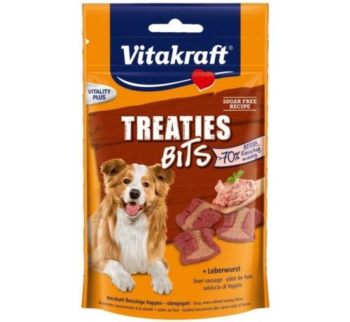 Vitakraft treaties bits snack per cani con patè di fegato 120 gr