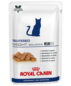 Royal Canin Veterinary Care Neutered Weight Balance per Gatto in Busta da 100g