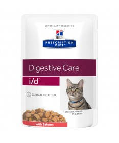 Hill's Prescription Diet i/d Digestive Care per Gatto con Salmone da 85g