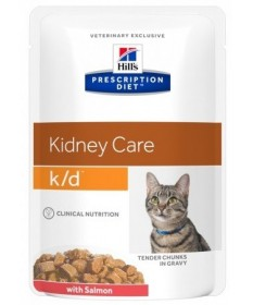 Hill's Prescription Diet k/d Kidney Care per Gatto con Salmone da 85g