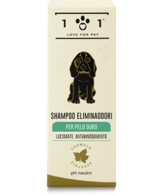 101 Love for Pet Shampoo Eliminaodori per tutti i tipi di pelo da 250 ml
