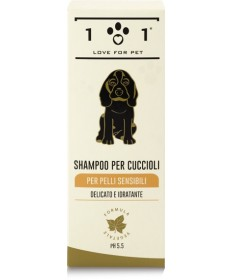 101 Love for Pet Shampoo Cuccioli per pelli sensibili da 250 ml