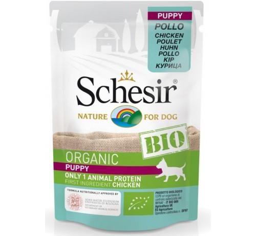 Schesir Bio per Cane Puppy con Pollo busta da 85g