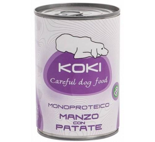 Koki Monoproteico per Cane Adult da 400g