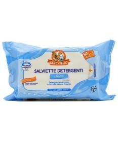 Salviette Detergenti Bayer Sano e Bello per Cane e Gatto da 50 salviette maxi