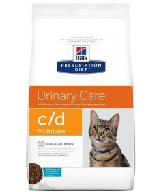 Hill's prescription diet c/d multicare per gatto con pesce da 1,5 kg