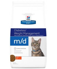 Hill's Prescription Diet M/D per Gatto da 1.5 Kg