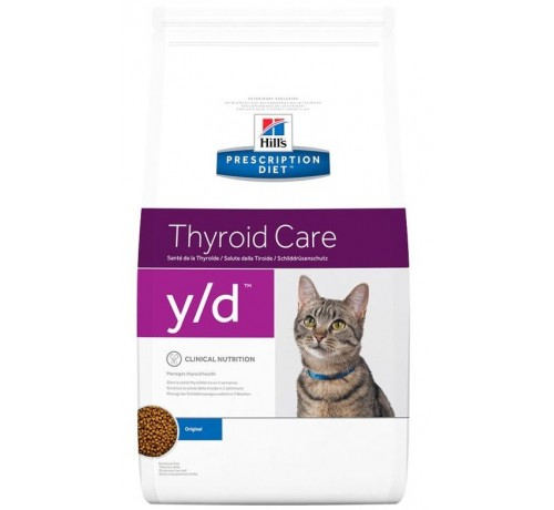 Hill's Prescription Diet Y/D per gatto da 1.5 KG