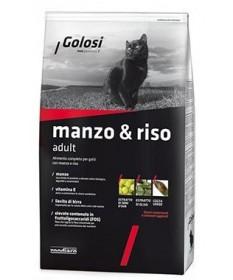 Golosi per Gatto con Manzo e Riso da 7,5 Kg
