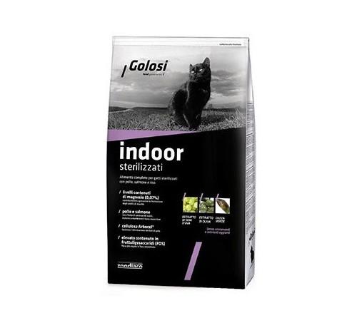 Golosi Indoor per Gatto Sterilizzato da 7,5 Kg