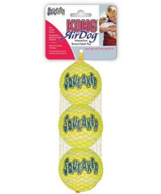 Kong Squeakair Medium Ball da 3 pezzi