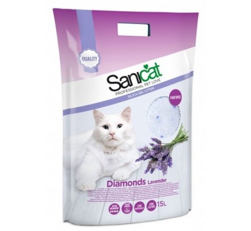 Sanicat Diamonds con Lavanda da 15 Lt
