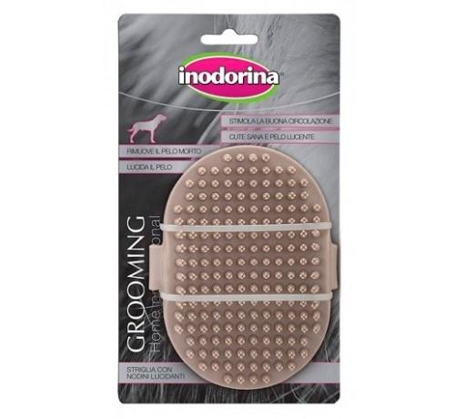 Inodorina Grooming Home Professional Striglia con Nodini Lucidanti