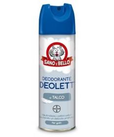 Bayer Sano e Bello Deolett Deodorante al Talco per Gatti da 200 ml