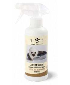 101 Love for Pet LettieraZero Deodorante Istantaneo Inodore da 300 ml