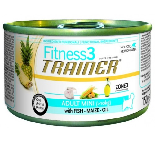 Trainer Fitness 3 Cane Umido Adult Mini 150 gr