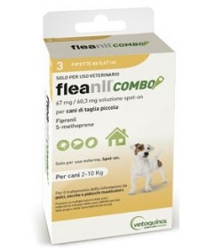 Vetoquinol Fleanil Combo per CaniJunior3 Pipette da0,67 ml