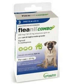 Vetoquinol Fleanil Combo per CaniLarge Maxi3 Pipette da 4,02ml